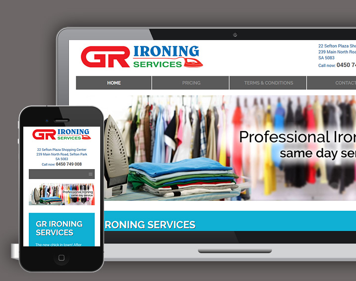 GR Ironing Services