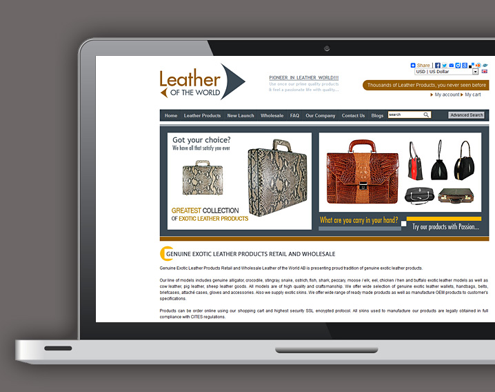 Leather of the World